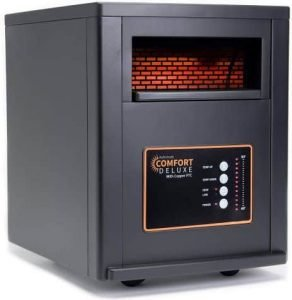 AirNmore comfort deluxe infrared space heater