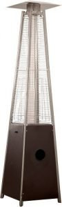 Hiland HLDSO1-WGTHG Pyramid Patio Propane Heater with wheels