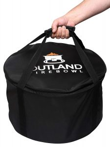 outland firebowl 893 carry bag included in the package