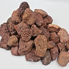 brown lava rocks