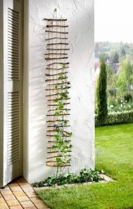 stick and wire wall decoration
