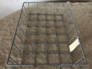 wire stationary tray