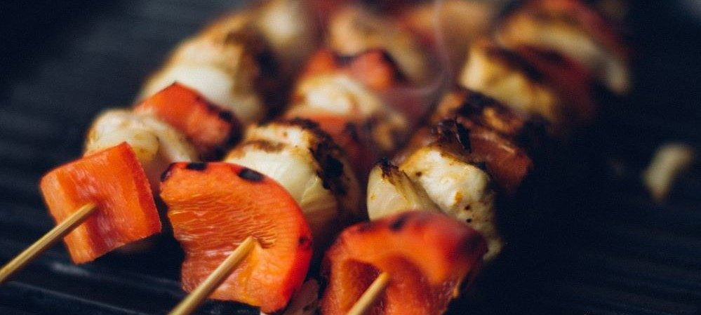 kabob-grilling-on-weber-electric-grill