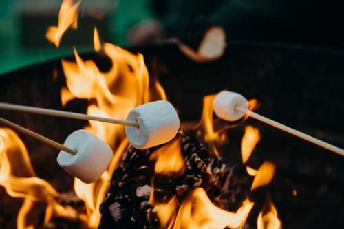 toasting-marshmallows-over-a-firepit