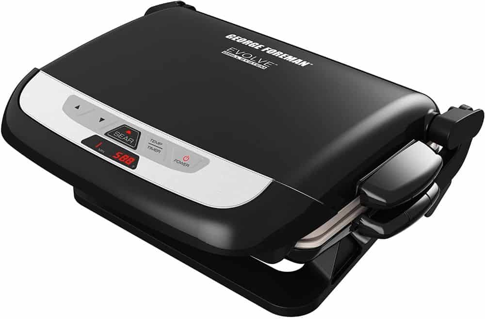 george foreman grill grp4842mb in black