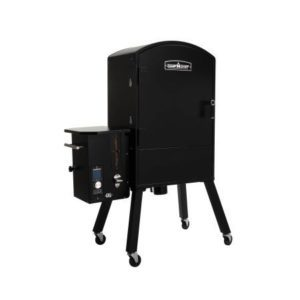 camp-chef-vertical-pellet-grill-and-smoker that is controlled by wifi through your phone is the latest addition to the different types of grills on the market