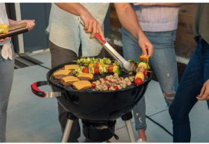 megamaster-portable-grill-showing-cooking-plenty-of-food