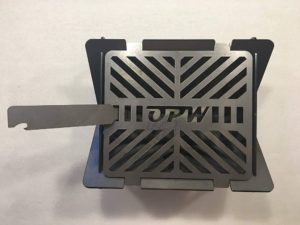 opw grill n go showing handle