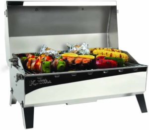 Kuuma-open-with-food-on-grill