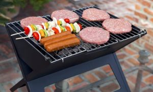 fire sense a truly folding portable grill