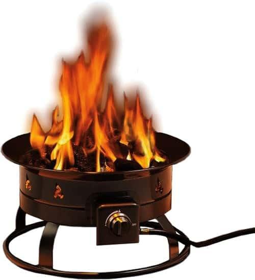 heininger 5995 58,000btu portable propane fire pit
