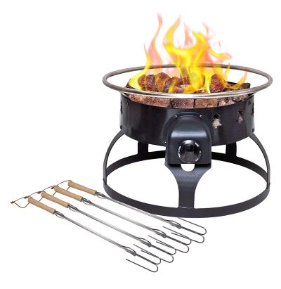 camp-chef-redwood-propane-firepit-with-skewers