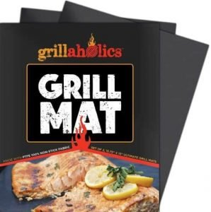 grillaholics-grill-mat with lifetime warranty