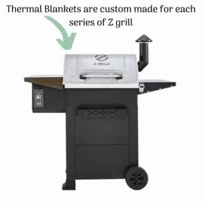 Z grill with thermal blanket