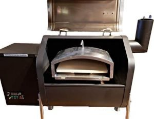 GMG pizza oven for Davy Crockett wood pellet grill grill